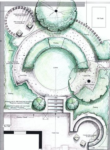 Garden designs and layouts stage 4 detailed garden for Garden planning and design