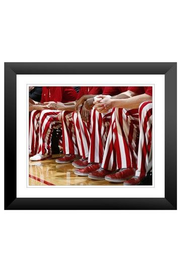 """Indiana: Bench Wall Art - 23"""" x 27"""" by College Basketball Madness on @HauteLook"""