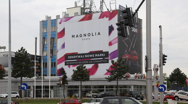 Kampania rebrandingowa Magnolia Park | Mediaskop