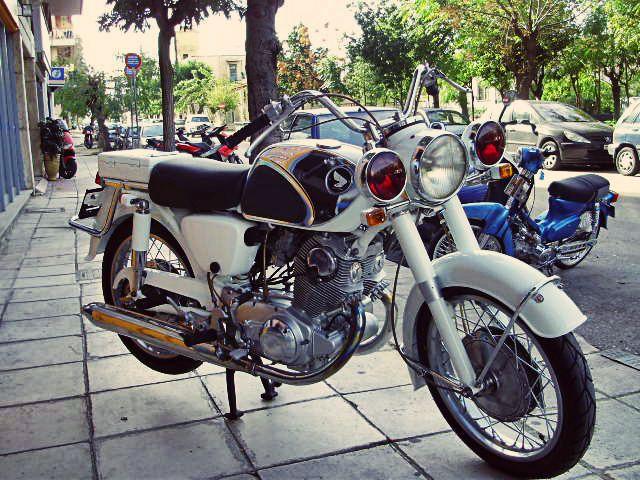 #restored #honda #motorcycle https://www.facebook.com/biketherapypatras and http://www.biketherapypatras.gr/