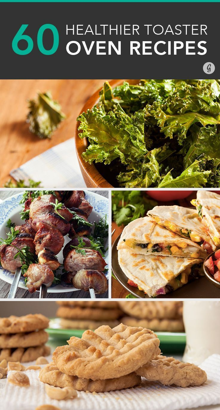 60 Meals You Didn't Know You Could Make in a Toaster Oven #healthy #recipes