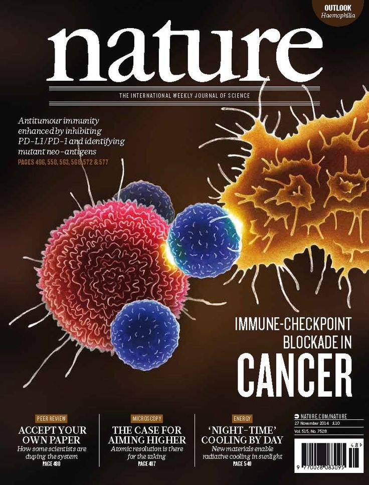 Immune checkpoint blockade in cancer in Nature
