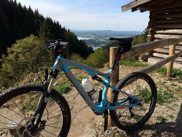 Cucuma Fully auf der Drehhütte (Schwangau, Allgäu) - Vielen Dank an René- www.cucuma.com   #Drehhhuette #MTB #fully #carbon