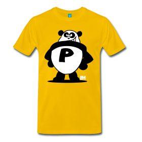 Panda Power T-shirt. #Spreadshirt #Cardvibes #Tekenaartje