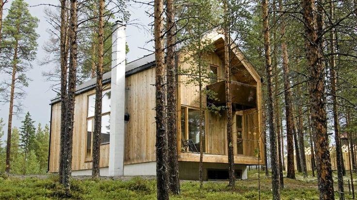 Moderne arkitektur i Østerdalens skoger