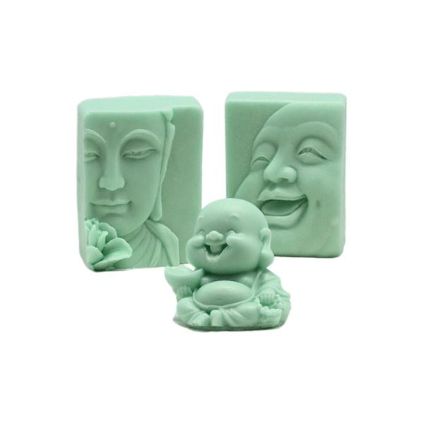 Moldes para hacer jabon de Budas, hacer jabon con nuestros moldes es muy sencillo, te enseñamos como hacerlo y te vendemos todos los materiales. Puedes ver el videtutorial para aprender a hacer jabon buda aqui.. http://www.hacerjabon.es/jabones-de-buda