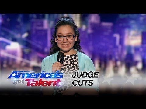 YouTube. Lori Mae Hernandez 13 yr old Comedian Makes Judges Cuts