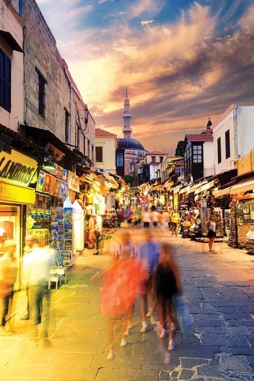 Old Town, Rhodes Island, Dodecanese,Greece, Amazing Greece, Удивительная Греция, Старый город