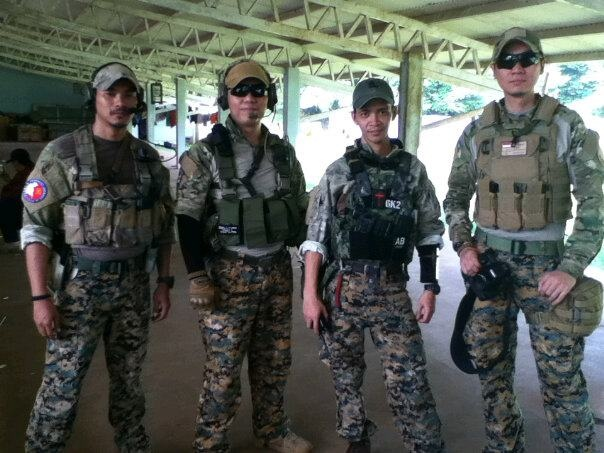 Audie, Waskito, Andre, Donny, & Chris make up some of TAC Team Airsoft, Jakarta, Indonesia.