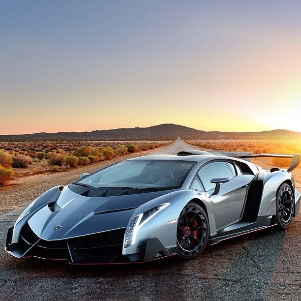 Lamborghini With Mountains In The Background Nice Picture