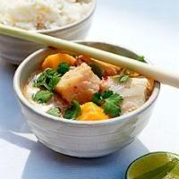 Recette Curry de poisson Tha�