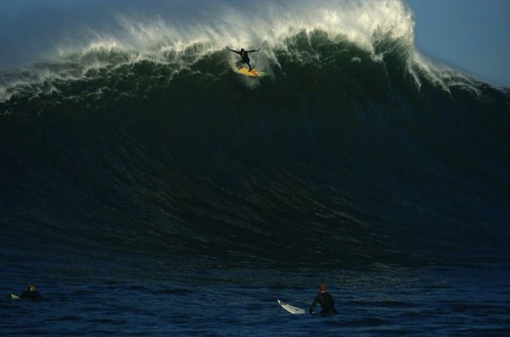 Jay Moriarty at Mavericks...the photo that made him famous... #Surfing