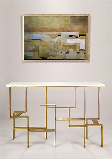 Console tables consoles and white console table on pinterest for Consoles murales design