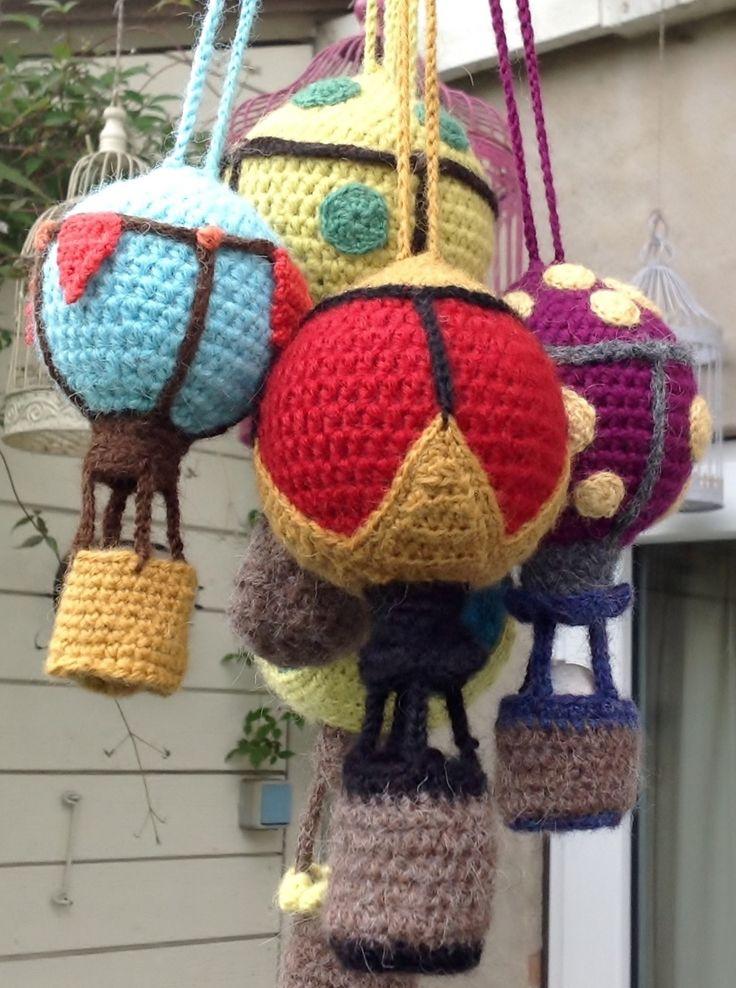 Crochet airballoon