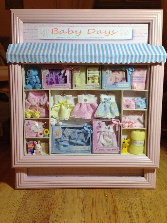Dolls house ooak 1/12 scale baby shop by Sarahsooakbabies on Etsy