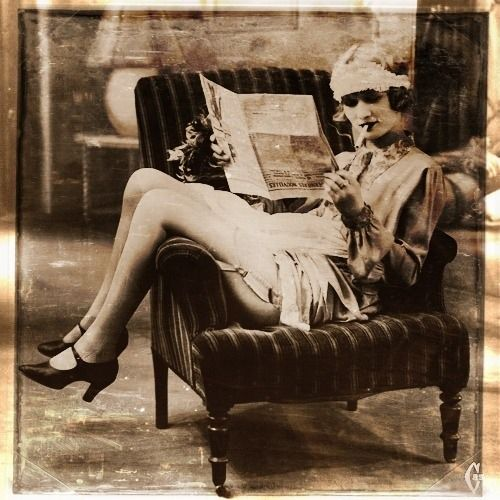 Love this quirky photo of Zelda Fitzgerald. Don't like her, but she DID marry F. Scott, so you gotta cut her some slack.