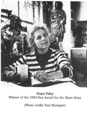 Grace Paley  (photo by Karl Bissinger)
