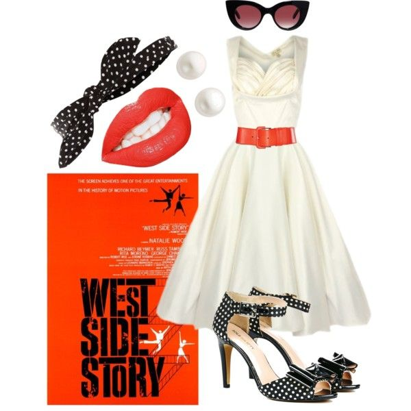 West side story dress style