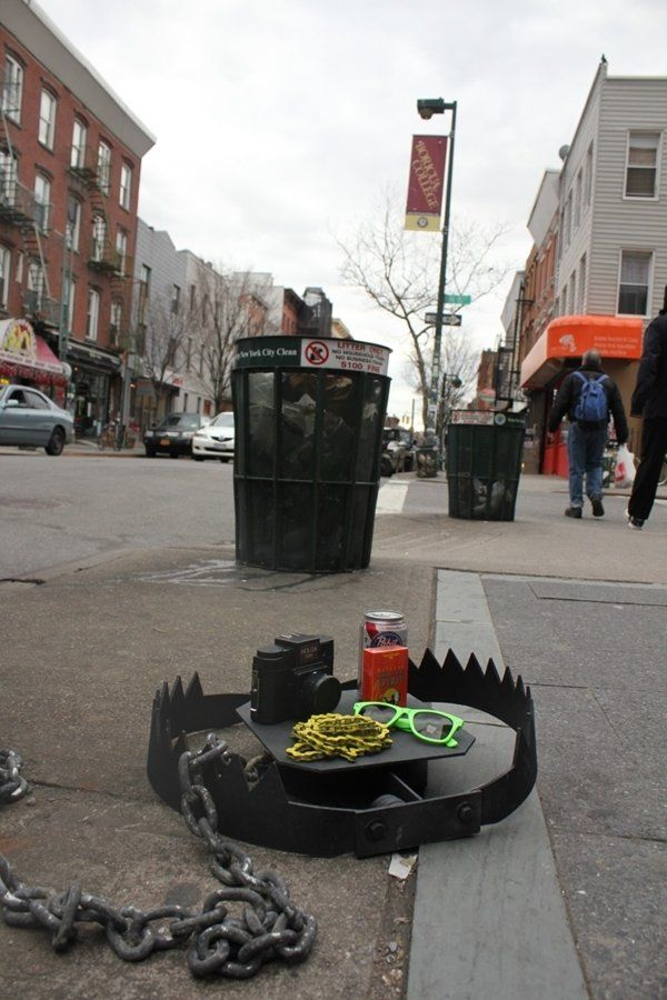 Best Street Art Graffitis Illusions Images On Pinterest - This artists genius work interacts with the streets of new york