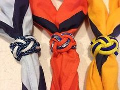 how to make cub scout woggle with paracord - Google Search