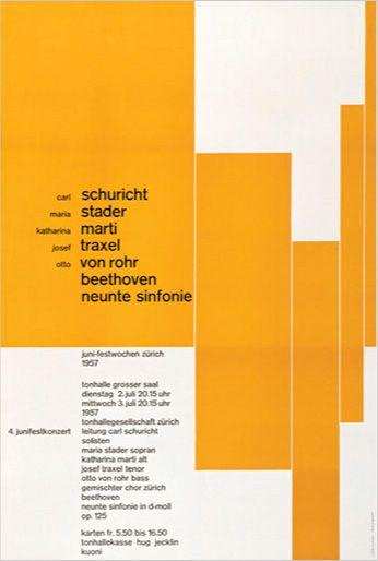 Joseph Muller-Brockmann, 1957