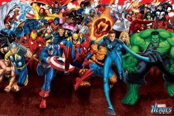 Marvel Heroes Regular Poster (01-6108)
