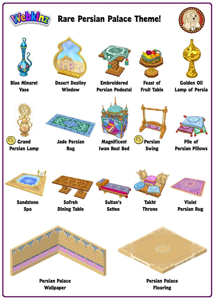 Persian Theme Items. 61 best Webkinz Newz images on Pinterest   Carousels  2017 events