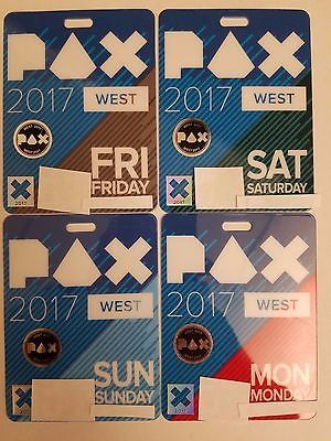 Holidays And Events: Pax West 2017 4 Day Pass Tickets (September 1-4) -> BUY IT NOW ONLY: $230 on eBay!
