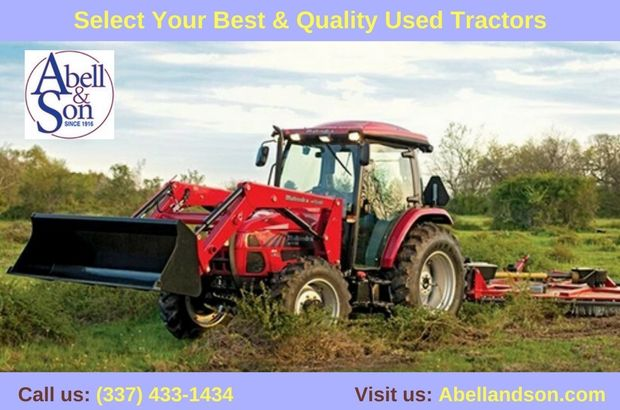 Abell & Son offer a large inventory of used farm equipment for sale like combines, loaders, harvesters, mowers and tractors. We bring you the best equipment that the agricultural industry needs to succeed and thrive. For more information, Call: (337) 433-1434 or visit: http://abellandson.com/