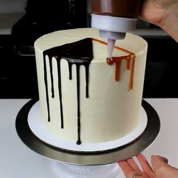 Cake Design Caramel : Best 25+ Drip cakes ideas on Pinterest Birthday cake ...