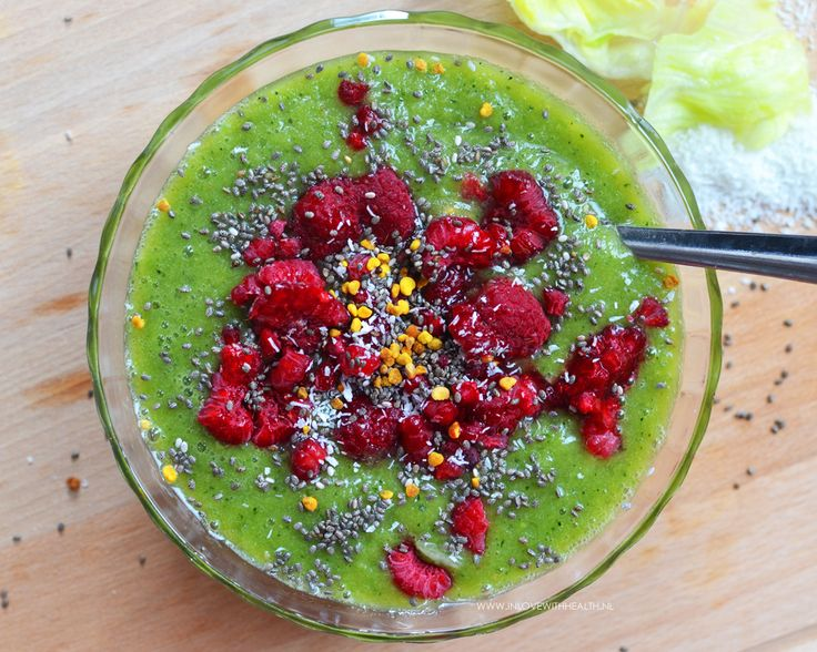 Groene smoothie van inlovewithhealth