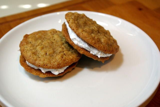 Oatmeal Cream Pies! ..and THE best whoopie pie filling recipe.