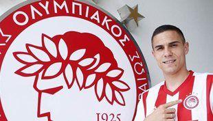 Ο Ούρος Τζούρτζεβιτς στον Ολυμπιακό.