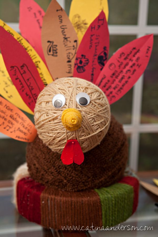 thanksgiving craft ideas pinterest grateful turkey gratitude project for the month of 5556