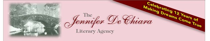 Welcome to The Jennifer De Chiara Literary Agency Website   Stephen Fraser Agent--Wants Chapter Book Series