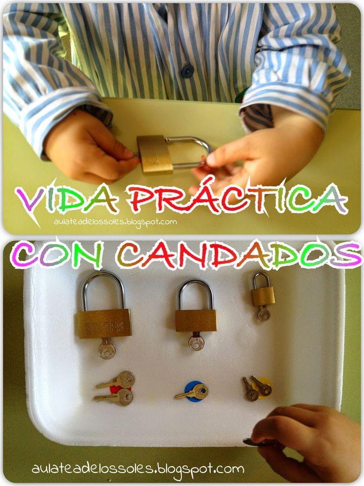 ABRIR Y CERRAR CANDADOS