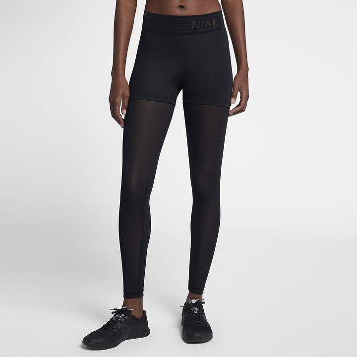 4641d000897f0 Nike Pro Deluxe Women's Mid-Rise Training Tights | Products | Pinterest | Women's  training tights, Nike pros and Fitness