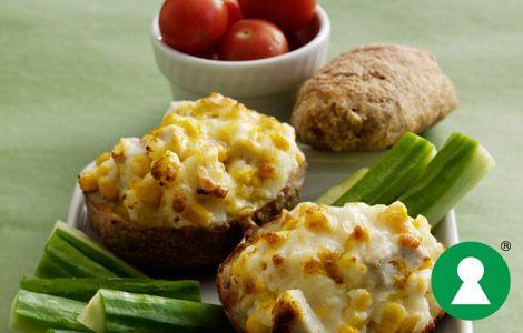 Alt om kost - Bagekartofler med fyld