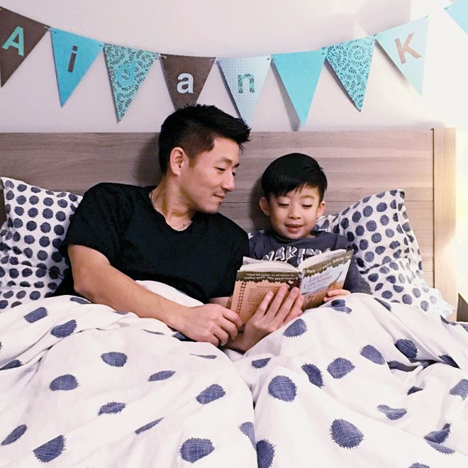 The benefits of having a big kid bedtime routine