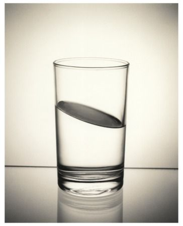 different glass of water! Chema Madoz.