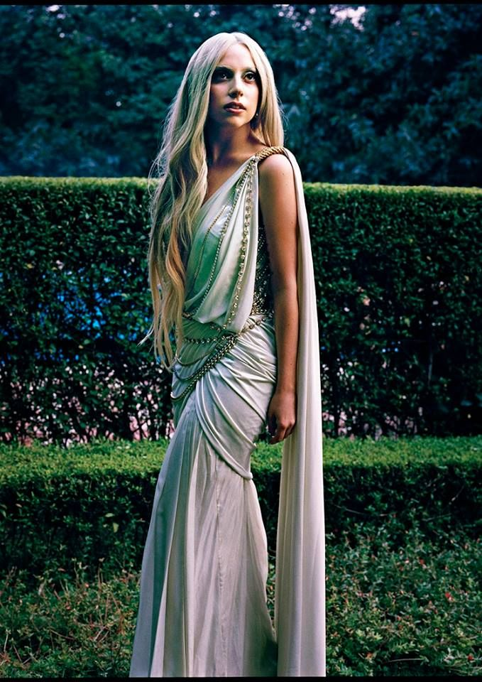 Lady Gaga in a Tarun Tahiliani