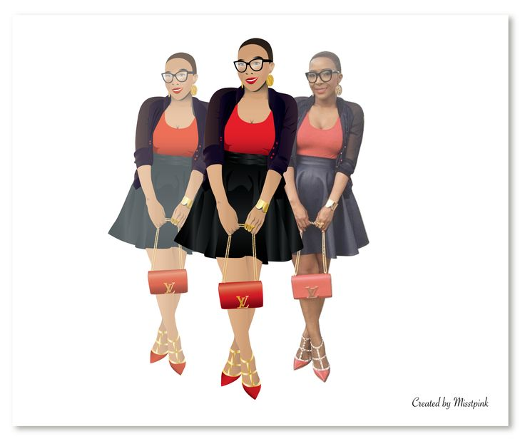 Comparison- Uyanda Mbuli #louisvuitton #highfashion #brand #lifestyle #black #red #gold #handbag #shoes #dressed #glam #love #fashion #vector #illustration