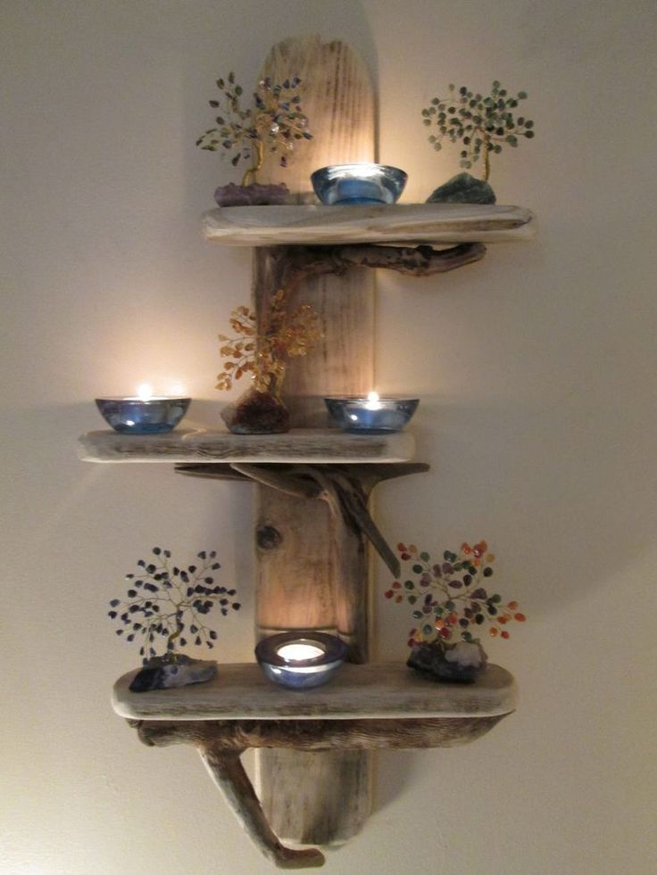 Quirky Unique Driftwood Anchor Shelves Solid Rustic Shabby Chic Nautical   Home, Furniture & DIY, Furniture, Bookcases, Shelving & Storage   eBay!
