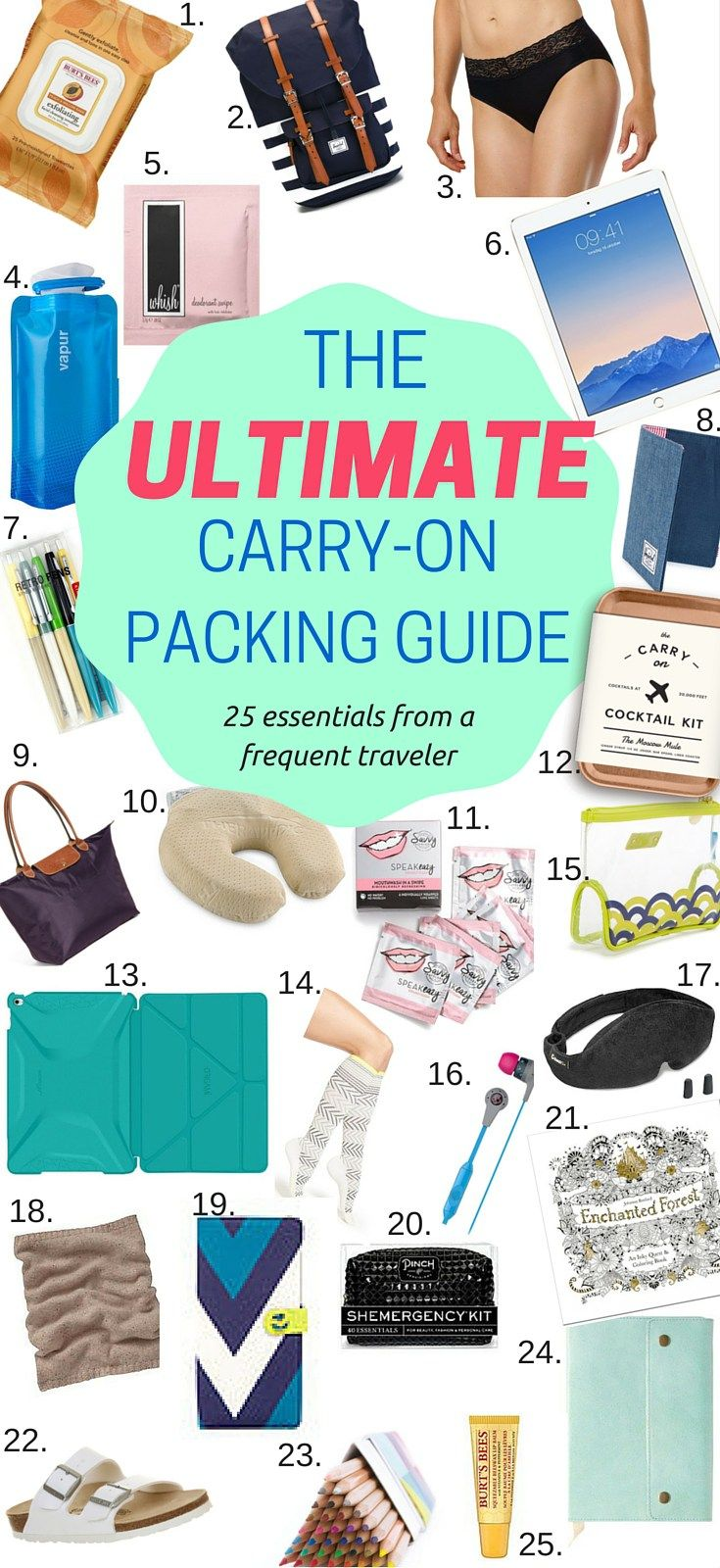 Learn the things you need to pack in your carry-on from a frequent traveler