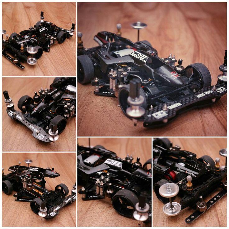 Shooting proud star vs chassis #mini4wd #mini4wdtamiya