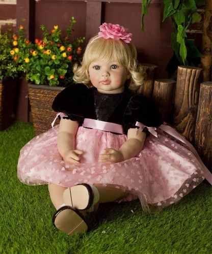 00ae06428 Boneca Bebê Menina Reborn 55 cm - Pronta Entrega bebê