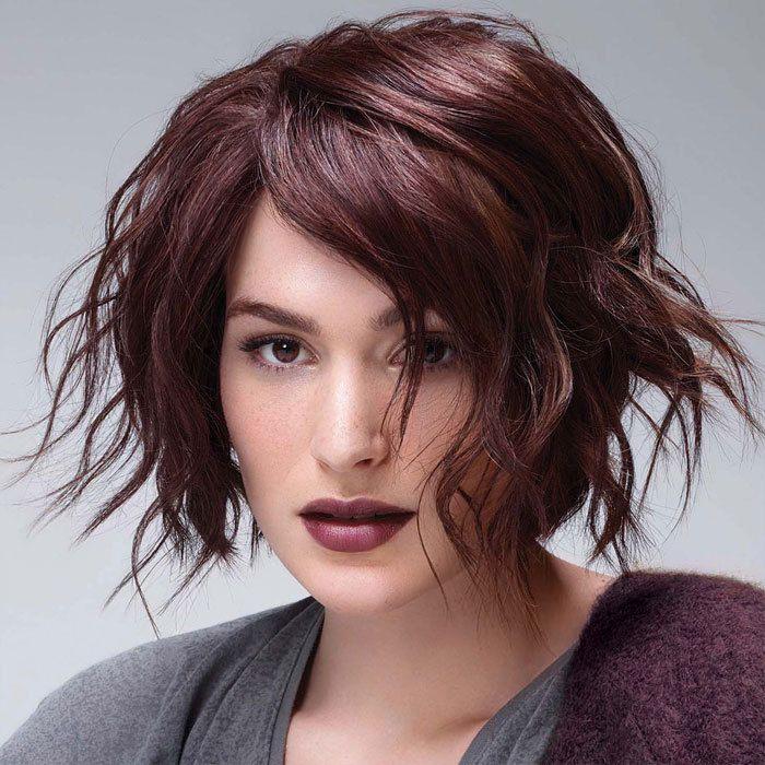 Coiffure cheveux milongs INTERMÈDE tendances automne