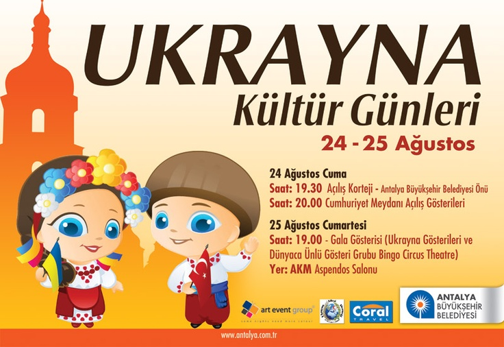 Ukrain Culture Days in Antalya