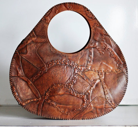 Vintage Handbag Purse Unique Chic Style by poshcouture on Etsy, $39.00