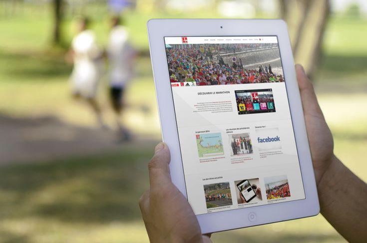 Le Marathon de la Baie du Mont Saint Michel a confié à l'équipe de Poisson Bouge, laboratoire de contenus web dynamiques, la refonte de son site internet.